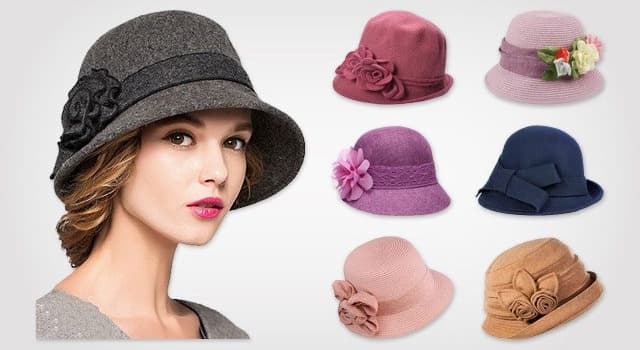 Culture Trivia Question: Which type of hats are these called?