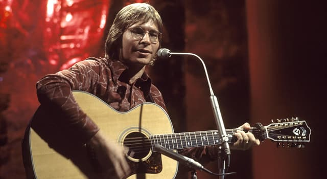 Culture Trivia Question: Which was John Denver's only solo UK number one single?