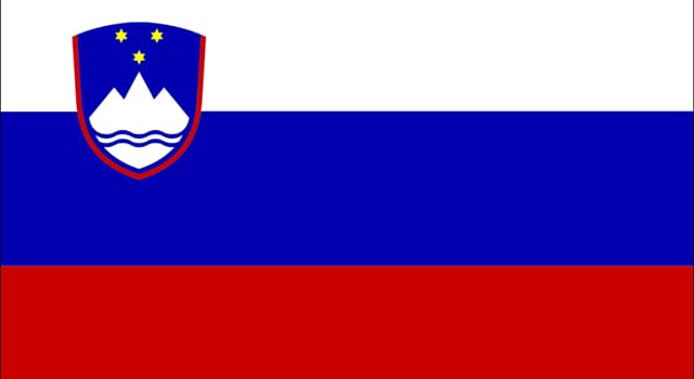 Geography Trivia Question: Which country's highest mountain peak is shown on its flag?