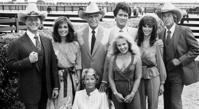 """Movies & TV Trivia Question: Who did not receive star billing in season 1 of the American TV show """"Dallas""""?"""