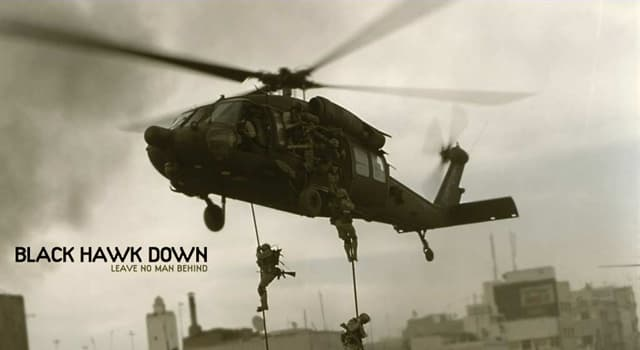 """Movies & TV Trivia Question: Who directed the war film """"Black Hawk Down' (2001)?"""