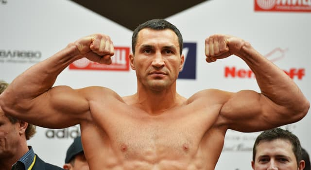 Sport Trivia Question: Who was Wladimir Klitschko's opponent in his only professional fight in Ukraine?