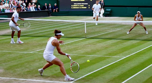 Sport Trivia Question: Who were the first brother and sister team to win a Grand Slam title together?