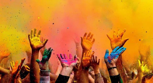Kultura Pytanie-Ciekawostka: Święto wiosny Holi, znane też jako Święto Kolorów, jest obchodzone przez wyznawców jakiej religii?