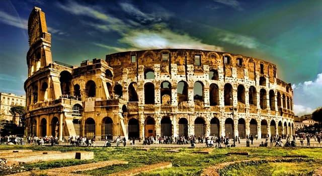 historia Pytanie-Ciekawostka: Z czego zbudowane jest Koloseum Rzymskie?
