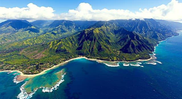 Geografia Pytanie-Ciekawostka: Z ilu głównych wysp składają się Hawaje?