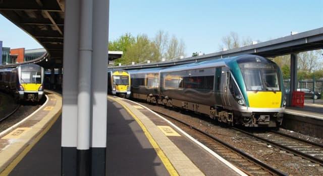 Geschichte Wissensfrage: Zwischen welchen Hauptstädten verkehrten die Enterprise-Züge seit dem Jahr 1947?