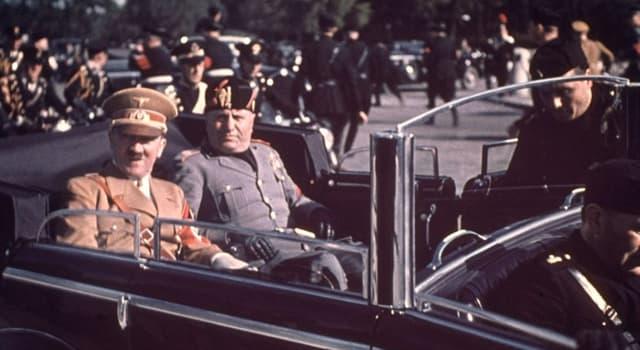 Geschichte Wissensfrage: 1938 verbot Mussolini alle amerikanischen Cartoons in Italien, außer welchen?