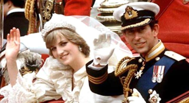 Wissenschaft Wissensfrage: An welchem Tag der Woche heirateten der britische Prinz Charles und Lady Diana Spencer 1981?