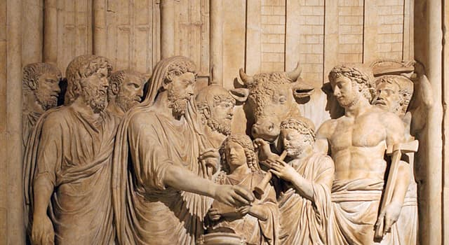 Культура Запитання-цікавинка: Богом чого, згідно давньоримської релігії, був Сол?