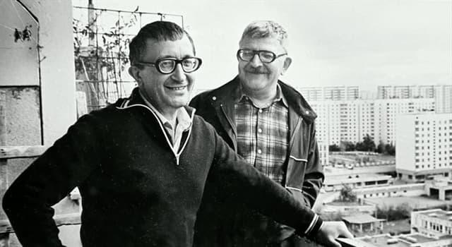 Культура Запитання-цікавинка: Брати Стругацькі - радянські і російські письменники. А як їх звати?