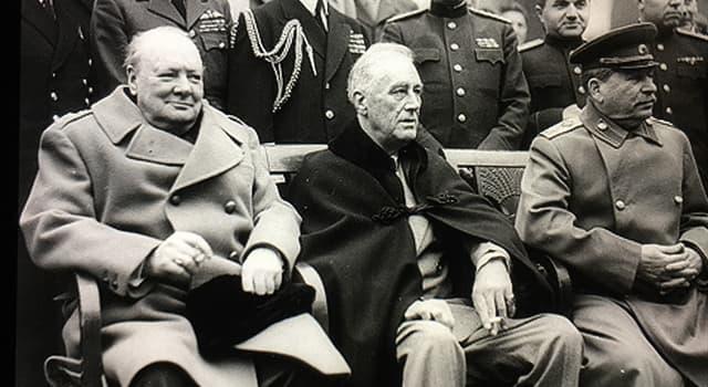 historia Pytanie-Ciekawostka: Co było głównym celem konferencji jałtańskiej w lutym 1945 roku?