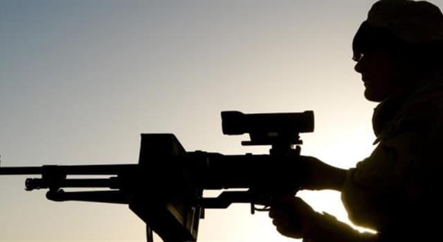 społeczeństwo Pytanie-Ciekawostka: Co jest dzisiaj najpopularniejszą bronią palną świata?