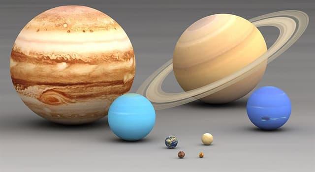 nauka Pytanie-Ciekawostka: Co jest największa planetą w Układzie Słonecznym?