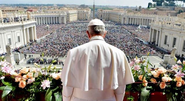 Kultura Pytanie-Ciekawostka: Co jest znakiem wyboru nowego papieża?