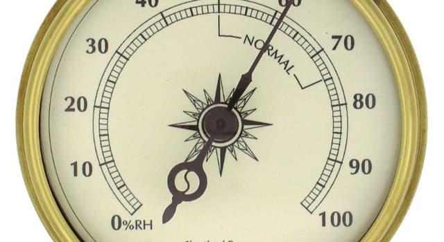 nauka Pytanie-Ciekawostka: Co mierzy higrometr?