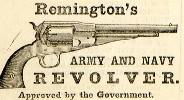 historia Pytanie-Ciekawostka: Co po raz pierwszy zostało wyprodukowane do sprzedaży w 1873 roku przez wytwórnię broni Remington?