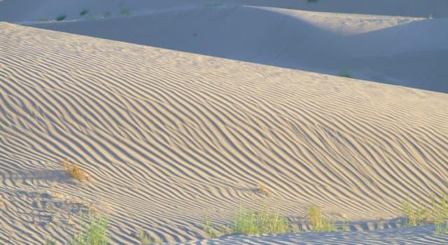 nauka Pytanie-Ciekawostka: Co sprawia, że pustynia White Sands w stanie Nowy Meksyk Stanów Zjednoczonych jest taka biała?