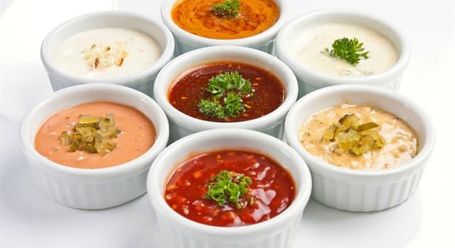 Kultura Pytanie-Ciekawostka: Co z poniższego to główne składniki sosu holenderskiego?