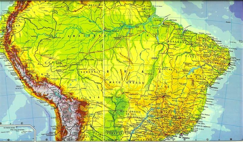 Geografía Pregunta Trivia: ¿Cuál es el país más pequeño de Sudamérica?
