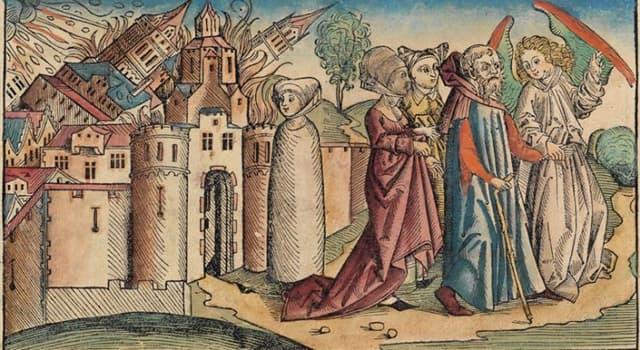 Kultura Pytanie-Ciekawostka: Czyja żona jako postać biblijna zamieniła się w filar soli?
