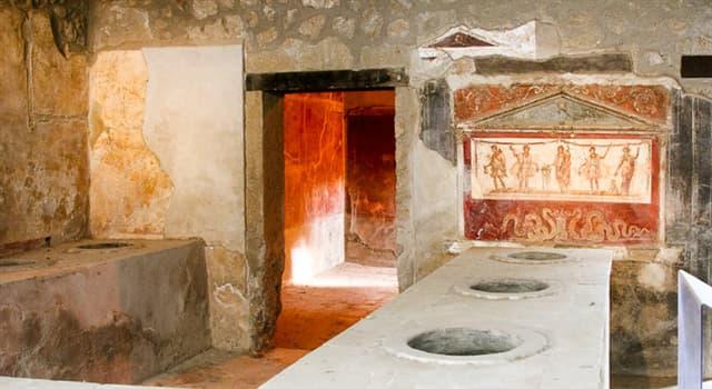 """historia Pytanie-Ciekawostka: Czym był """"termopol"""" w starożytnym świecie grecko-rzymskim?"""