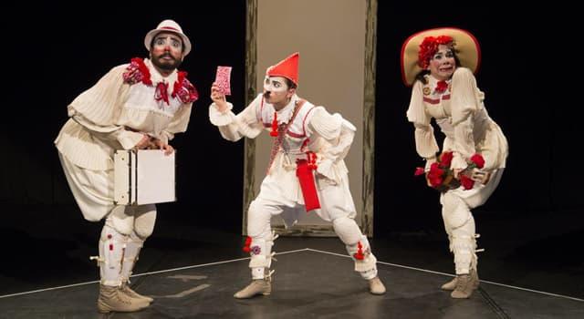 """Kultura Pytanie-Ciekawostka: Czym w sztuce Szekspira """"Hamlet"""" zajmują się klauni?"""