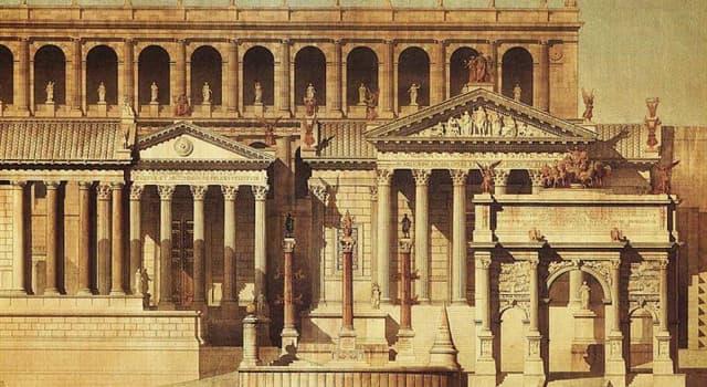 Geschichte Wissensfrage: Das alte Rom wurde ursprünglich auf wie vielen Hügeln gebaut?