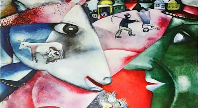 Kultur Wissensfrage: Das Bild zeigt einen Teil eines Ölgemäldes, das im Jahre 1911 von welchem Künstler gemalt wurde?
