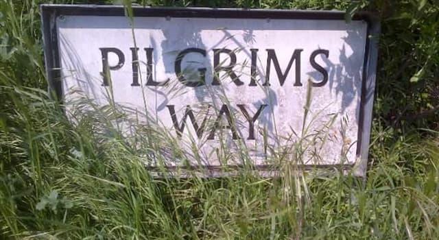Geschichte Wissensfrage: Der Pilgrim's Way war eine historische Route, die welche beiden englischen Domstädte verband?