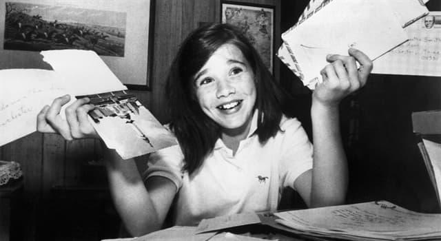 Geschichte Wissensfrage: Die amerikanische Schülerin Samantha Smith wurde berühmt durch ihren Brief an wen?
