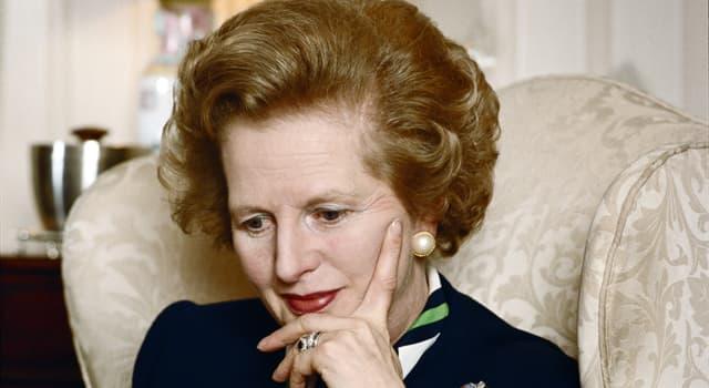 Gesellschaft Wissensfrage: Die Statue von Margaret Thatcher im Londoner Parlamentsgebäude besteht aus welchem Metall?