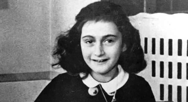 historia Pytanie-Ciekawostka: Dokąd wyprowadziła się Anna Frank wraz z rodziną, żeby uciec przed nazistowskim terrorem?