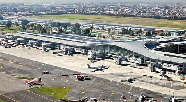 Geography Trivia Question: El Dorado International Airport serves which capital city?