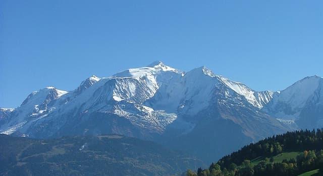 Geografia Pytanie-Ciekawostka: Gdzie leżą Alpy?
