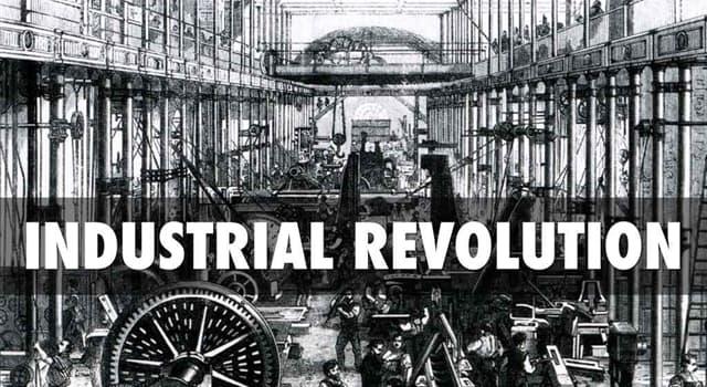 historia Pytanie-Ciekawostka: Gdzie rozpoczęła się rewolucja przemysłowa?