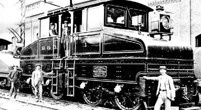 nauka Pytanie-Ciekawostka: Gdzie wyprodukowano pierwszą elektryczną lokomotywę?