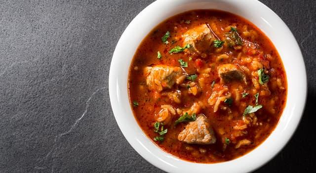 Культура Запитання-цікавинка: Харчо - національний суп якої країни?
