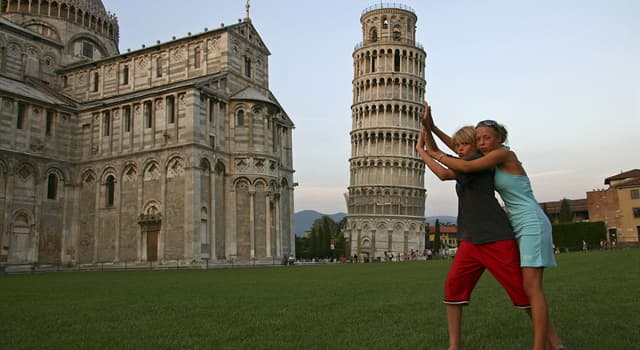 History Trivia Question: How long was the Leaning Tower of Pisa closed to the public from 7 January 1990?