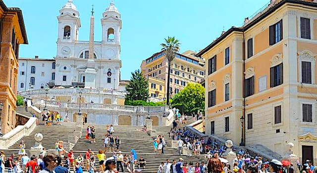 """Culture Trivia Question: How many steps do the famous """"Spanish Steps"""" in Rome have?"""