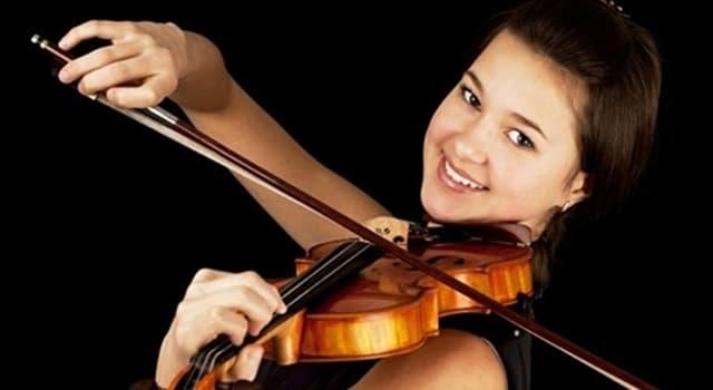 Kultura Pytanie-Ciekawostka: Ile strun mają standardowe skrzypce?