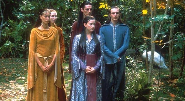 """Film & Fernsehen Wissensfrage: In """"Der Herr der Ringe"""" basiert die elbische Sprache Sindarin auf welcher realen Sprache?"""