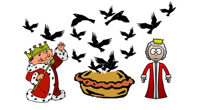 Culture Trivia Question: In the nursery rhyme how many blackbirds were baked in a pie?