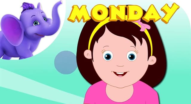 Culture Trivia Question: In the nursery rhyme, Monday's child is fair of what?