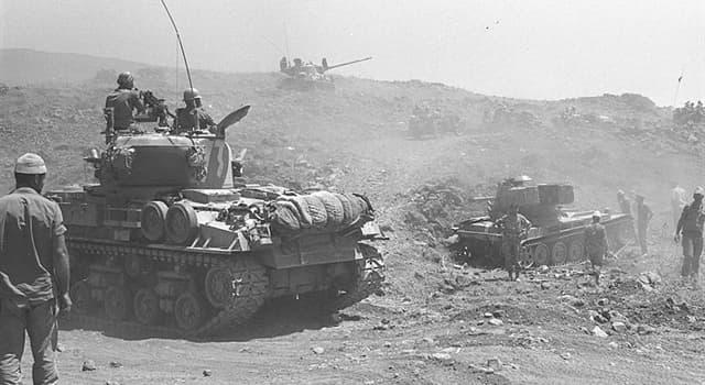 Geschichte Wissensfrage: In welchem Krieg siegte Israel?