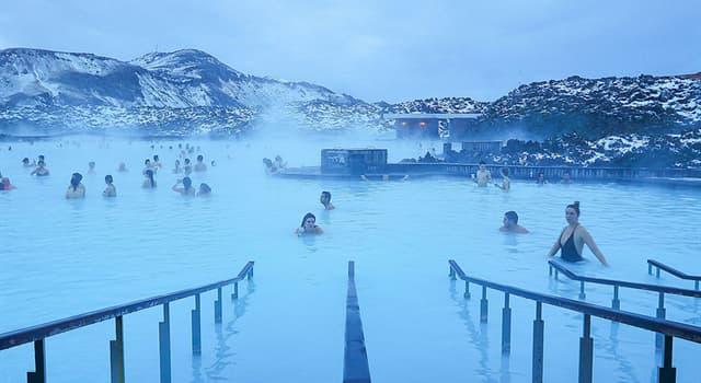 """Geographie Wissensfrage: In welchem Land befindet sich ein Thermalfreibad """"Blaue Lagune""""?"""