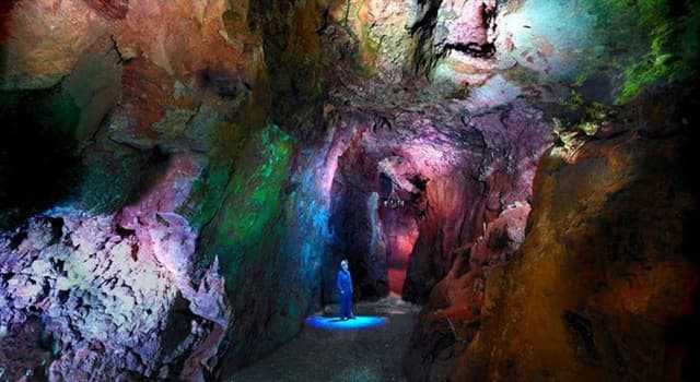 Geography Trivia Question: In which English county would you find the Blue John Cavern?