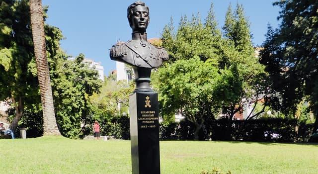 History Trivia Question: In which European city did Tsarevich Nicholas Alexandrovich Romanov die?