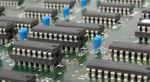 Наука Запитання-цікавинка: З чого найчастіше виготовляють комп'ютерні мікрочіпи?