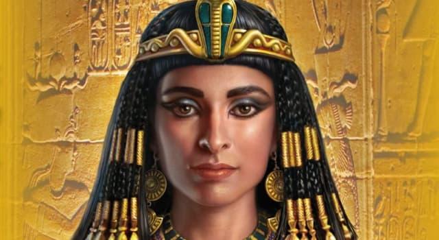 historia Pytanie-Ciekawostka: Jak miał na imię syn Kleopatry, którego ojcem ponoć był Juliusz Cezar?